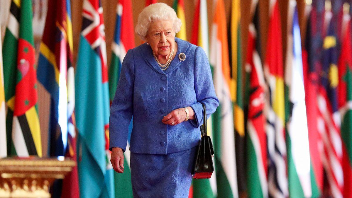 Schwere Tage für die Monarchie