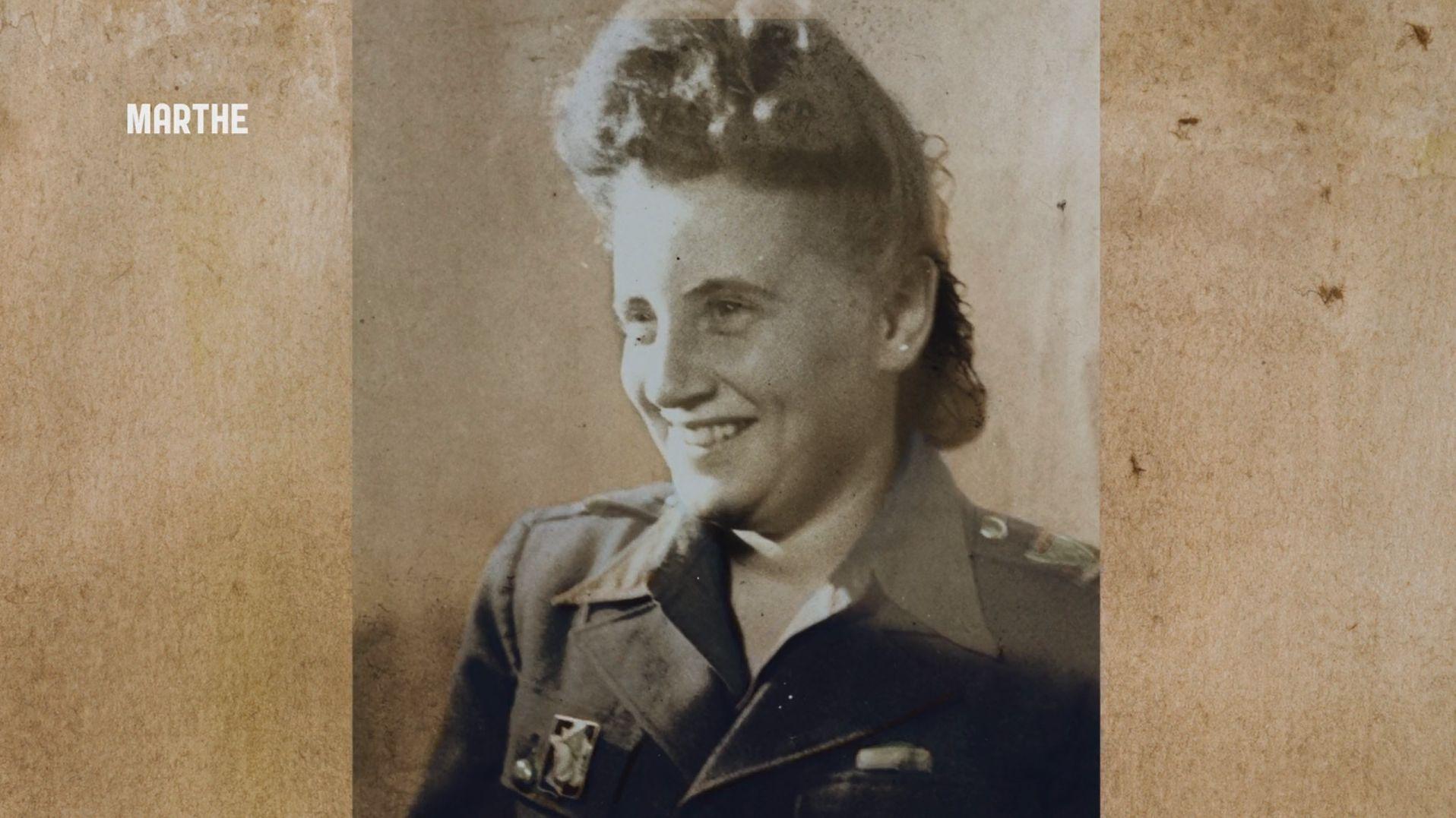Marthe Cohn bei der Französischen Armee