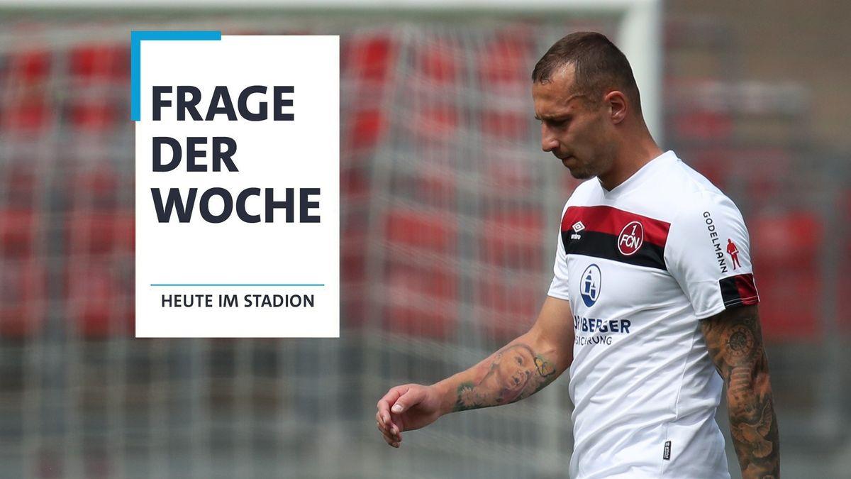 Nürnbergs Adam Zrelak nach dem 0:0 gegen Bochum