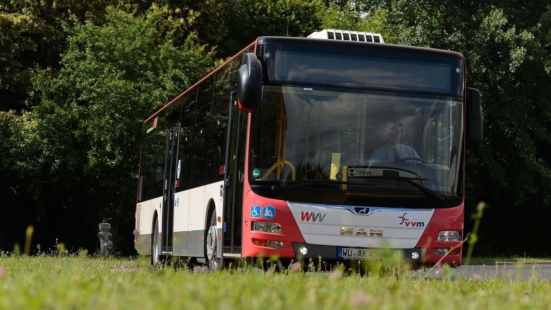 Linienbus des VVM