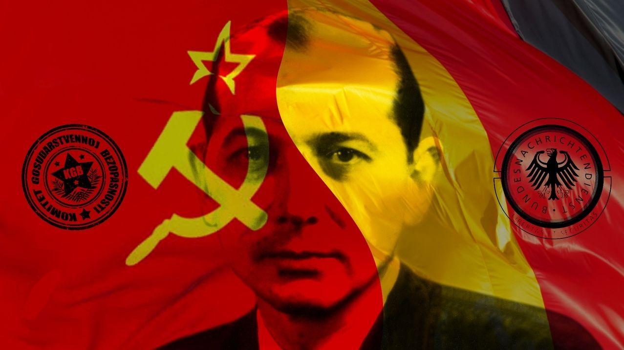 Symbolbild: Heinz Felfe zwischen KGB und BND