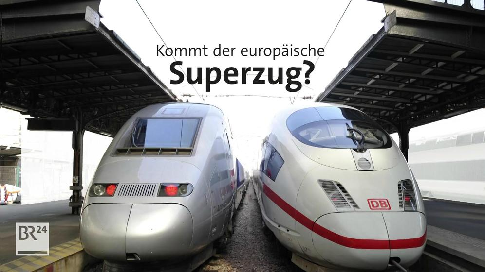 Grafik Superzug | Bild:BR