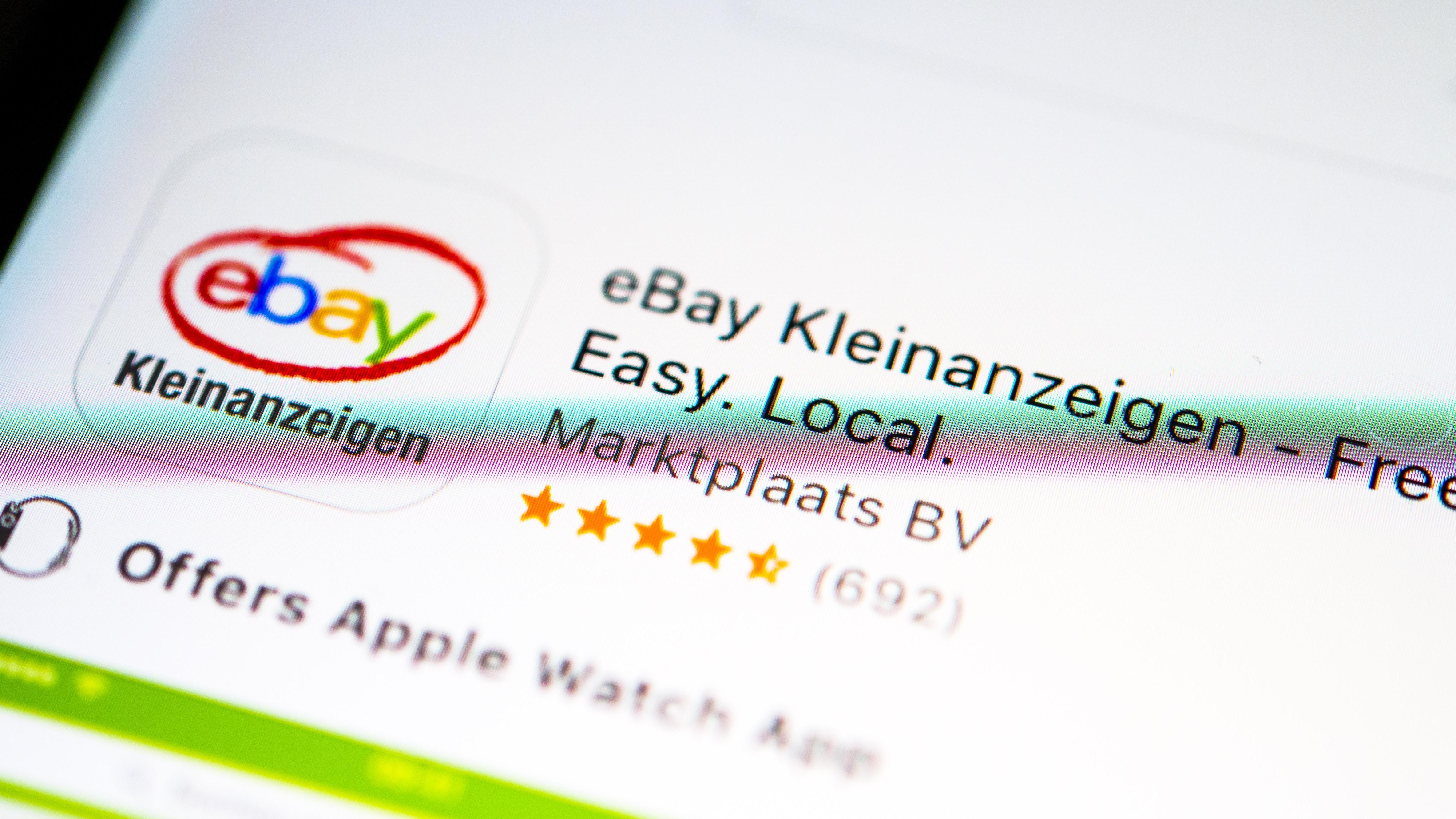 Ebay Kleinanzeigen App im Apple App Store