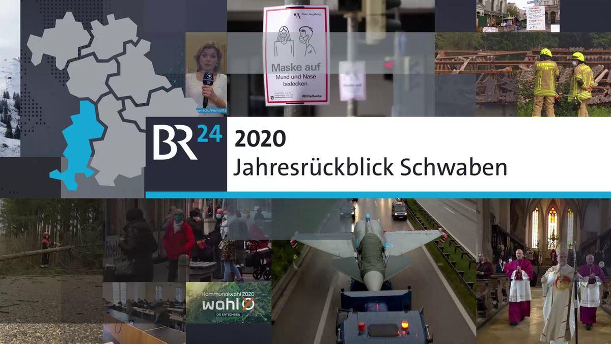 Jahresrückblick 2020 aus Schwaben - Bildcollage
