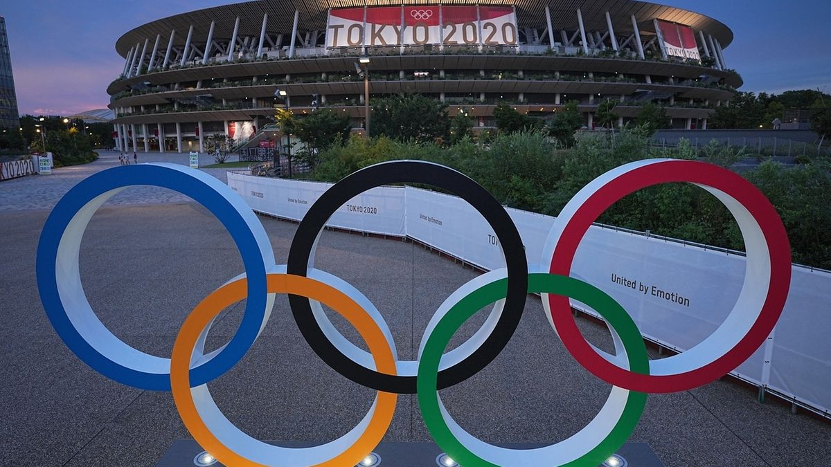 Das Olympiastadion in Tokio