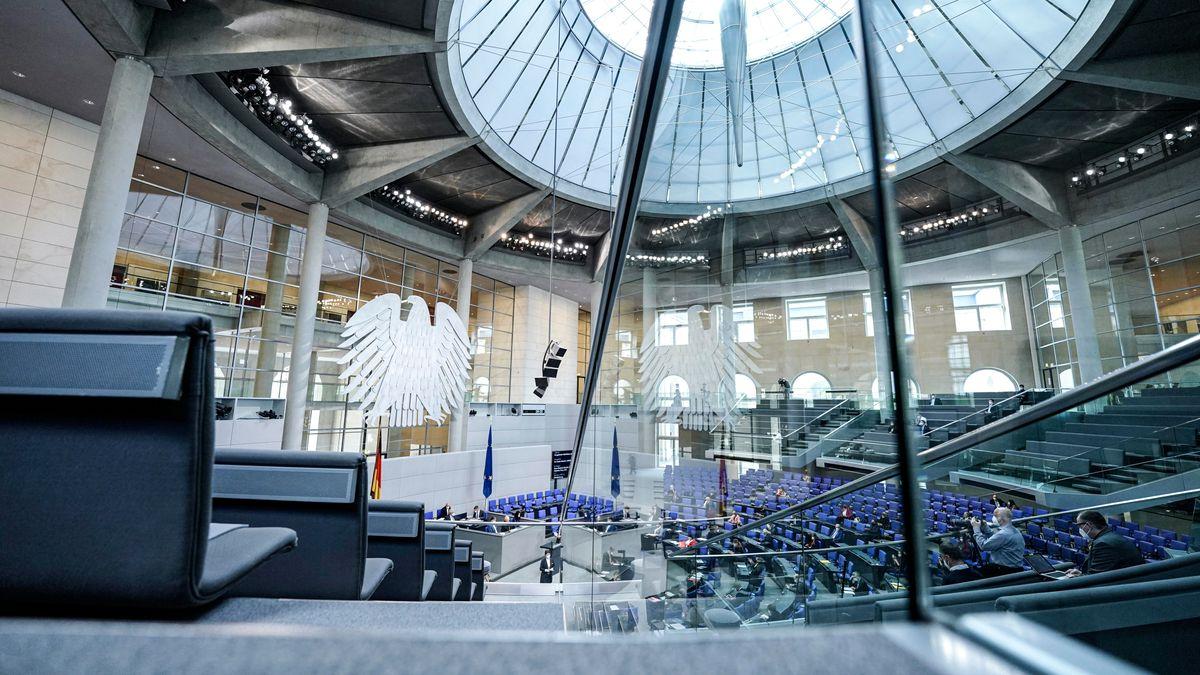 Blick in den Bundestag