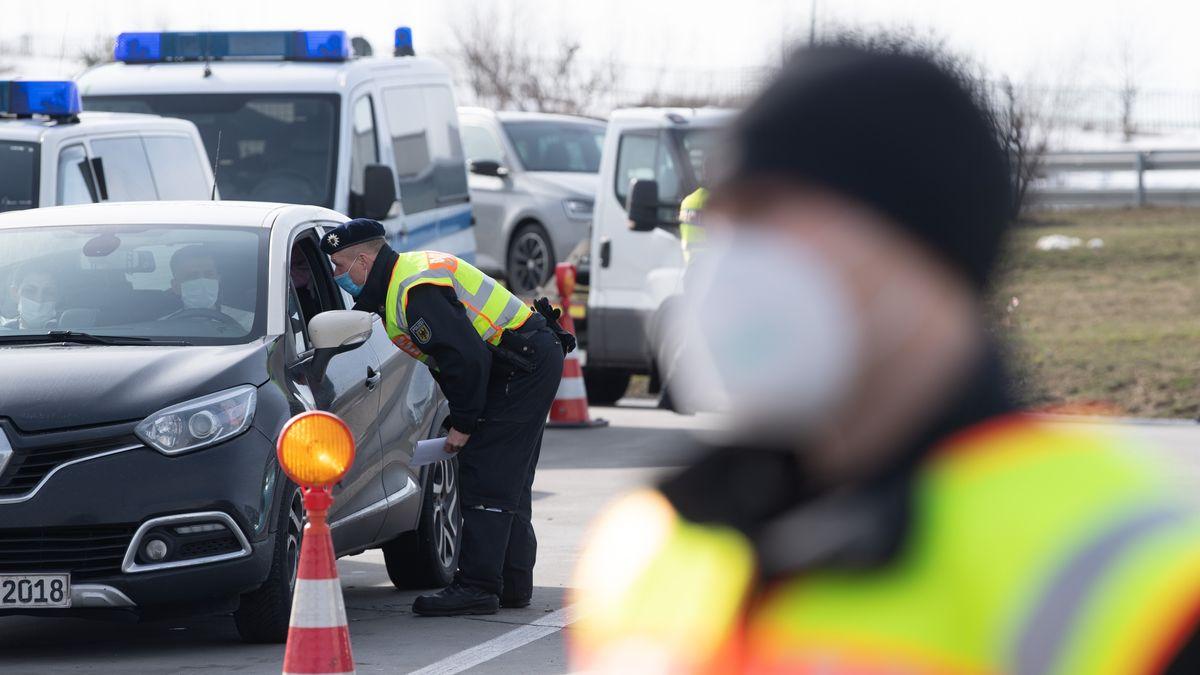 Grenzkontrollen der Bundespolizei an der deutsch-tschechischen Grenze