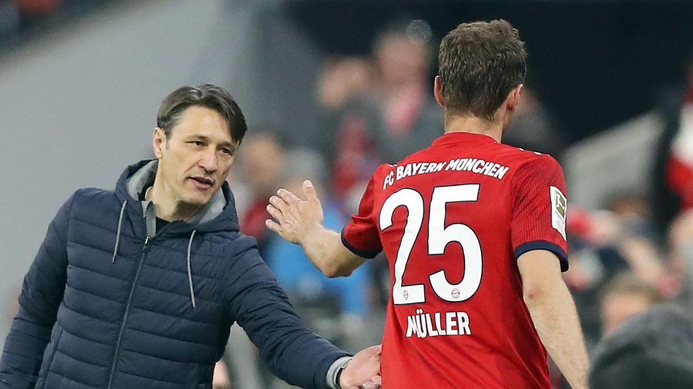 FC-Bayern-Trainer Niko Kovac und Vize-Kapitän Thomas Müller