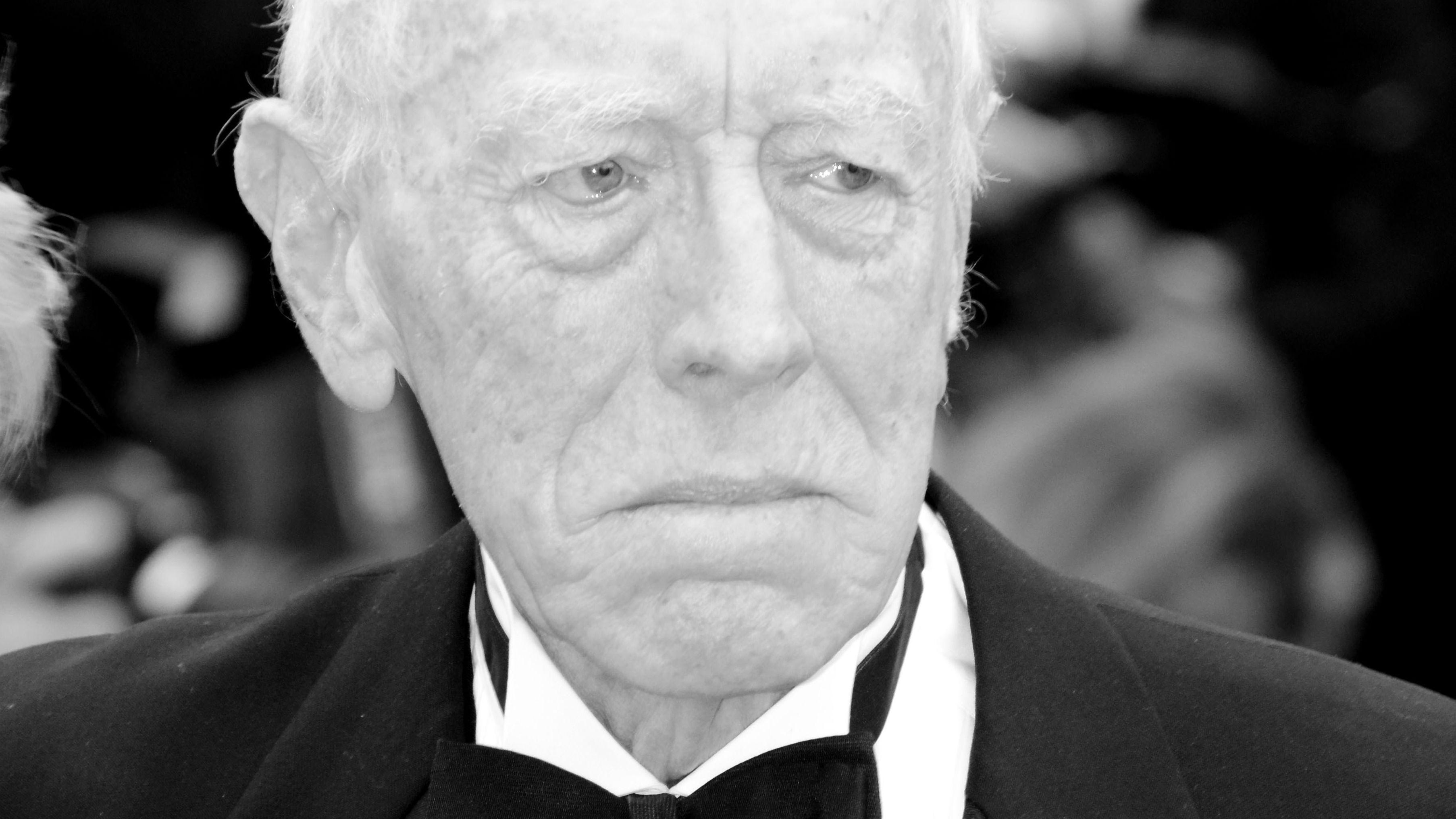 Trauer um Schauspieler Max von Sydow