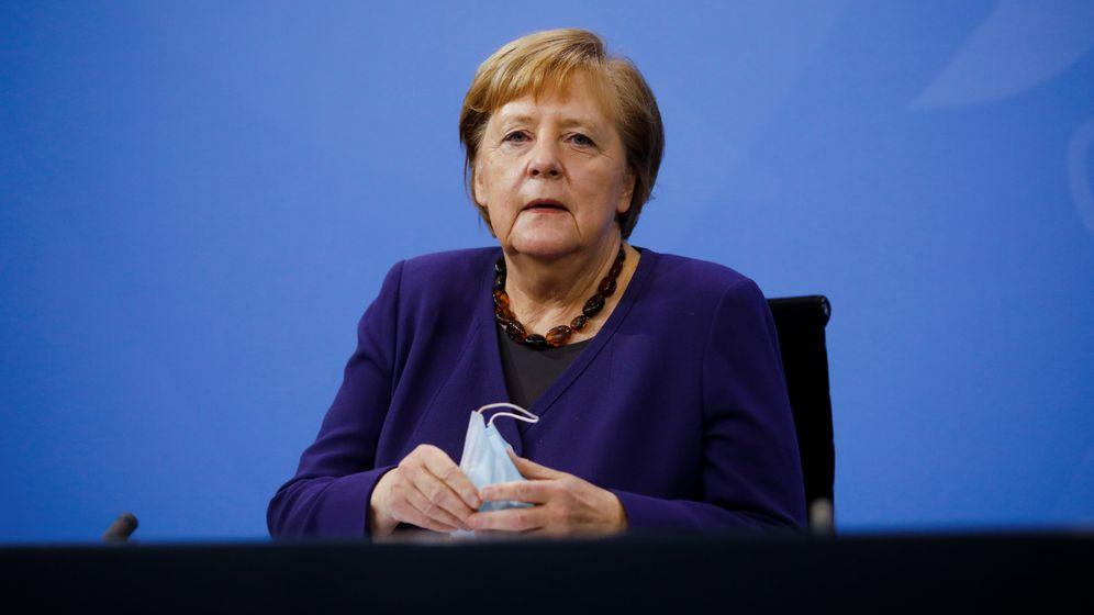 Bundeskanzlerin Merkel in Berlin | Bild:Markus Schreiber/REUTERS