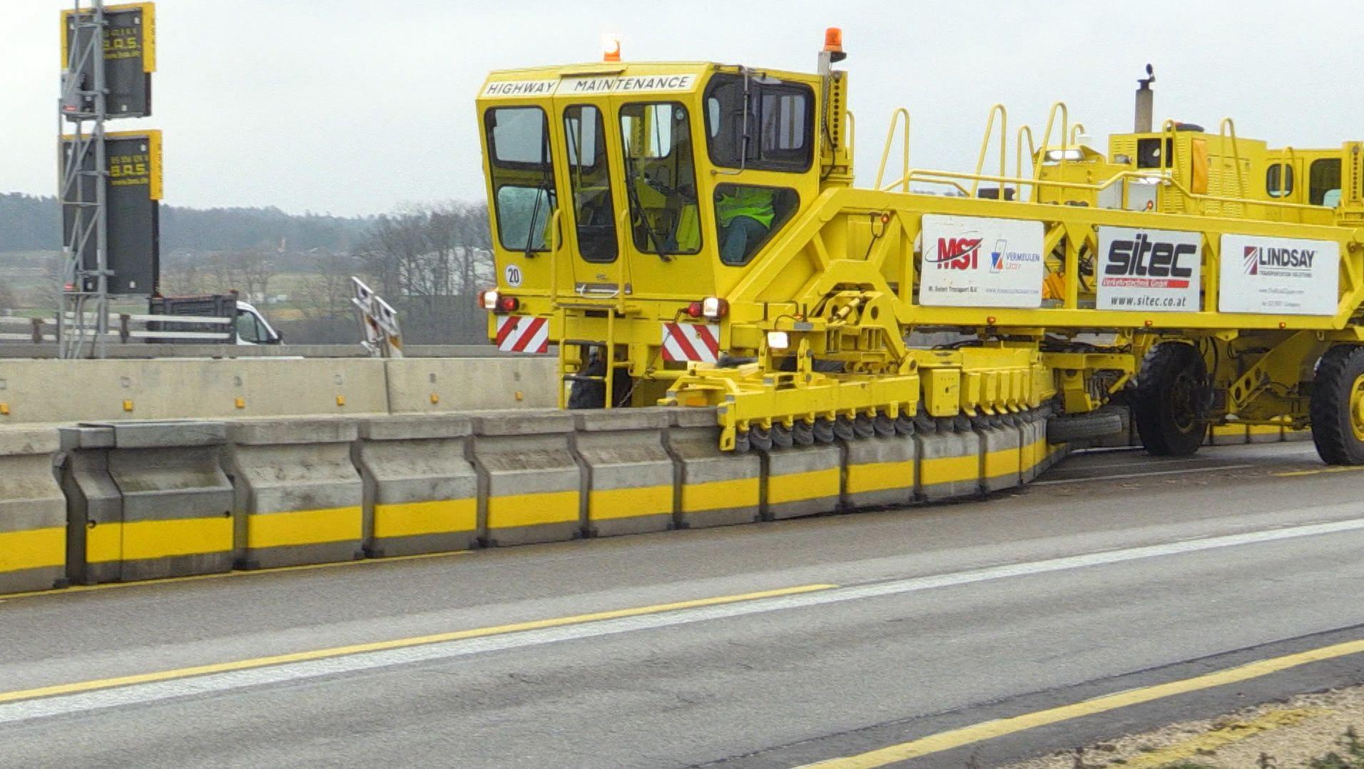 Der Roadzipper auf der A9