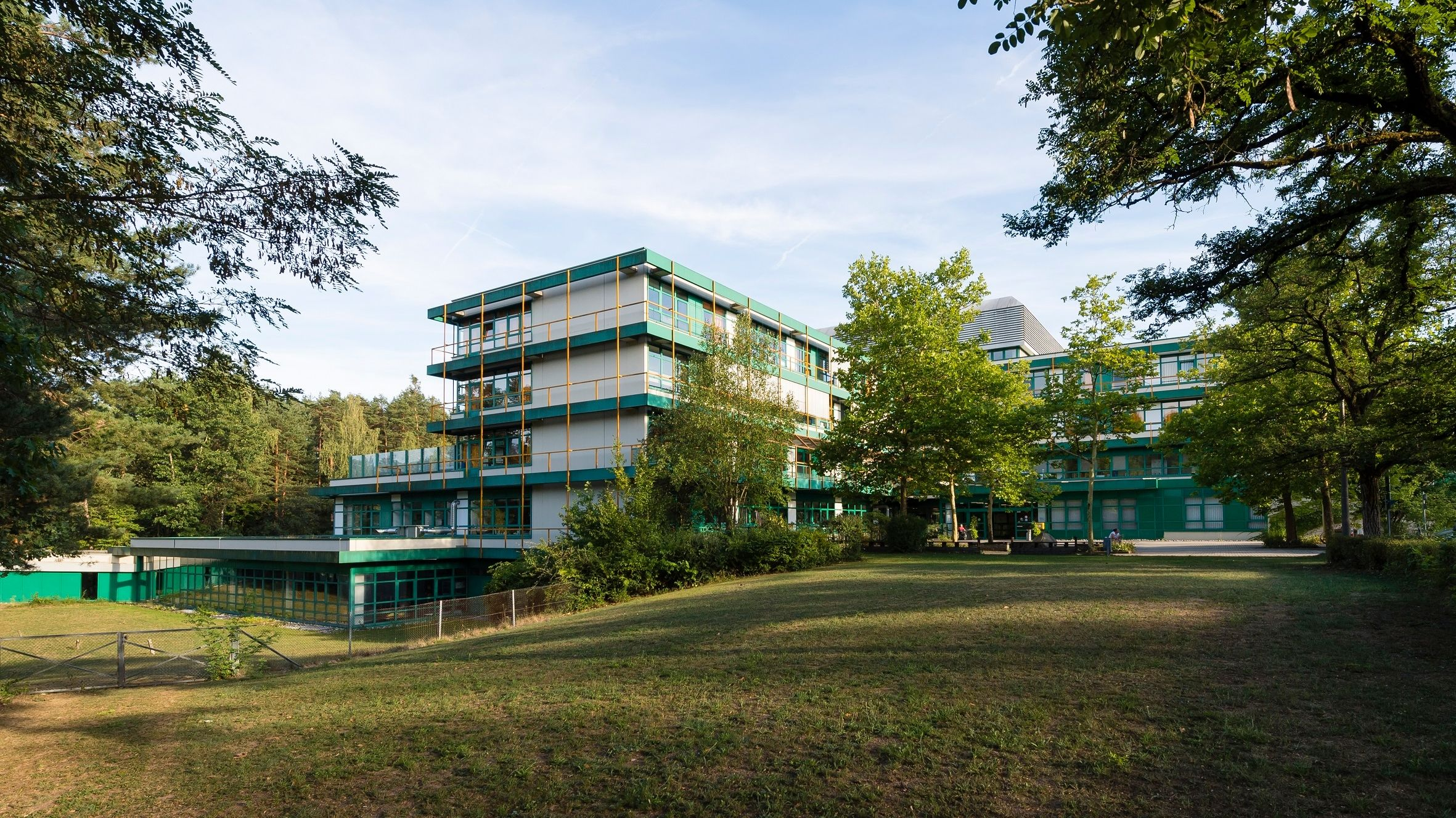 Ein Krankenhausgebäude