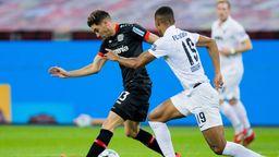 Spielszene Bayer Leverkusen - FC Augsburg   Bild:dpa-Bildfunk/Rolf Vennenbernd