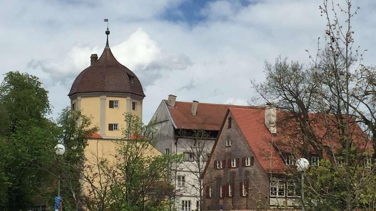 Einsturzgefährdetes Haus in Memmingen