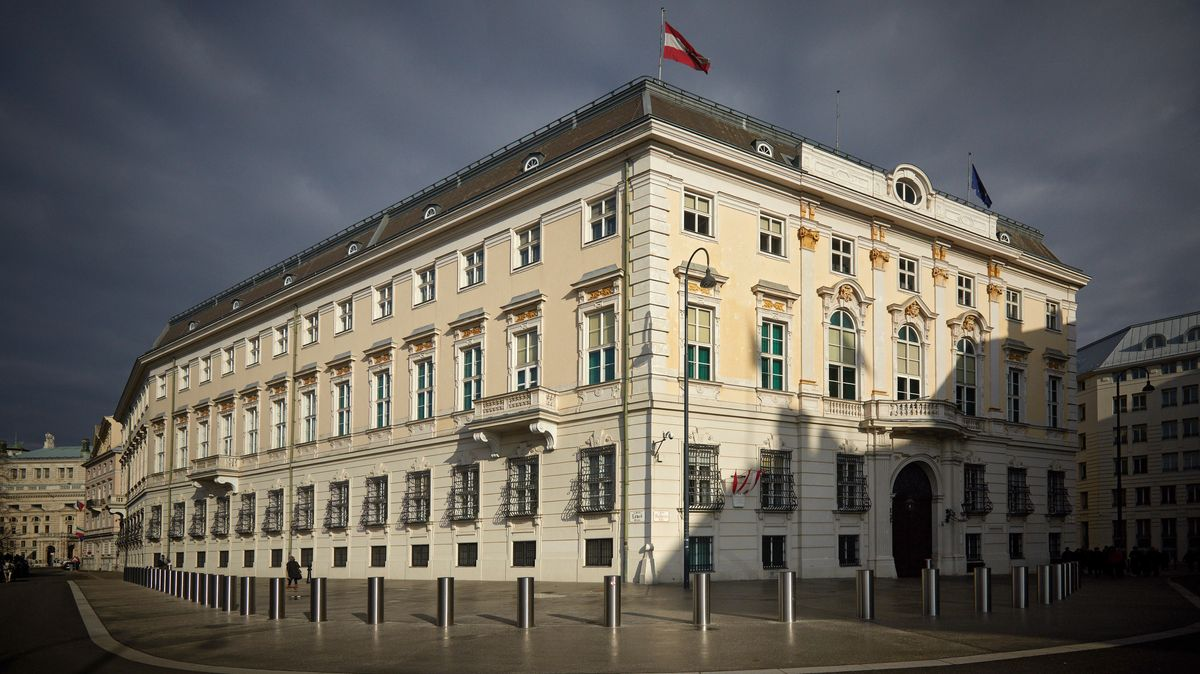 Das Bundeskanzleramt in Wien.