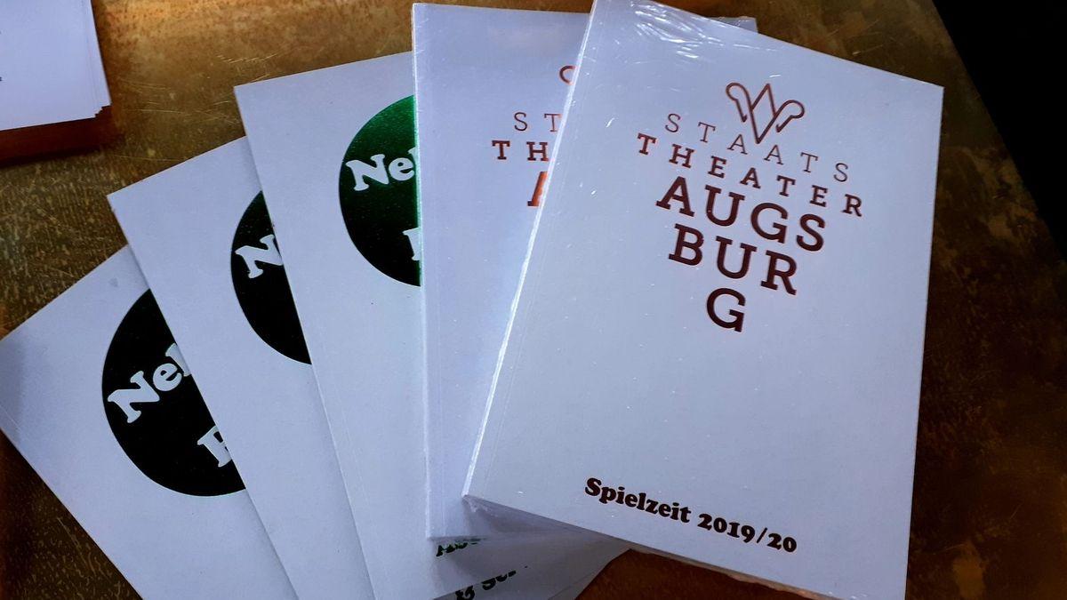 Spielplan-Katalog Staatstheater Augsburg