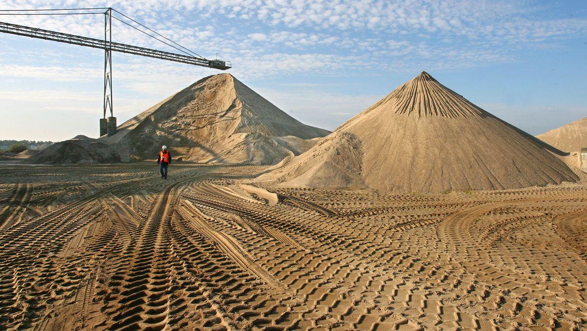 Im Bauboom wird Sand langsam knapp