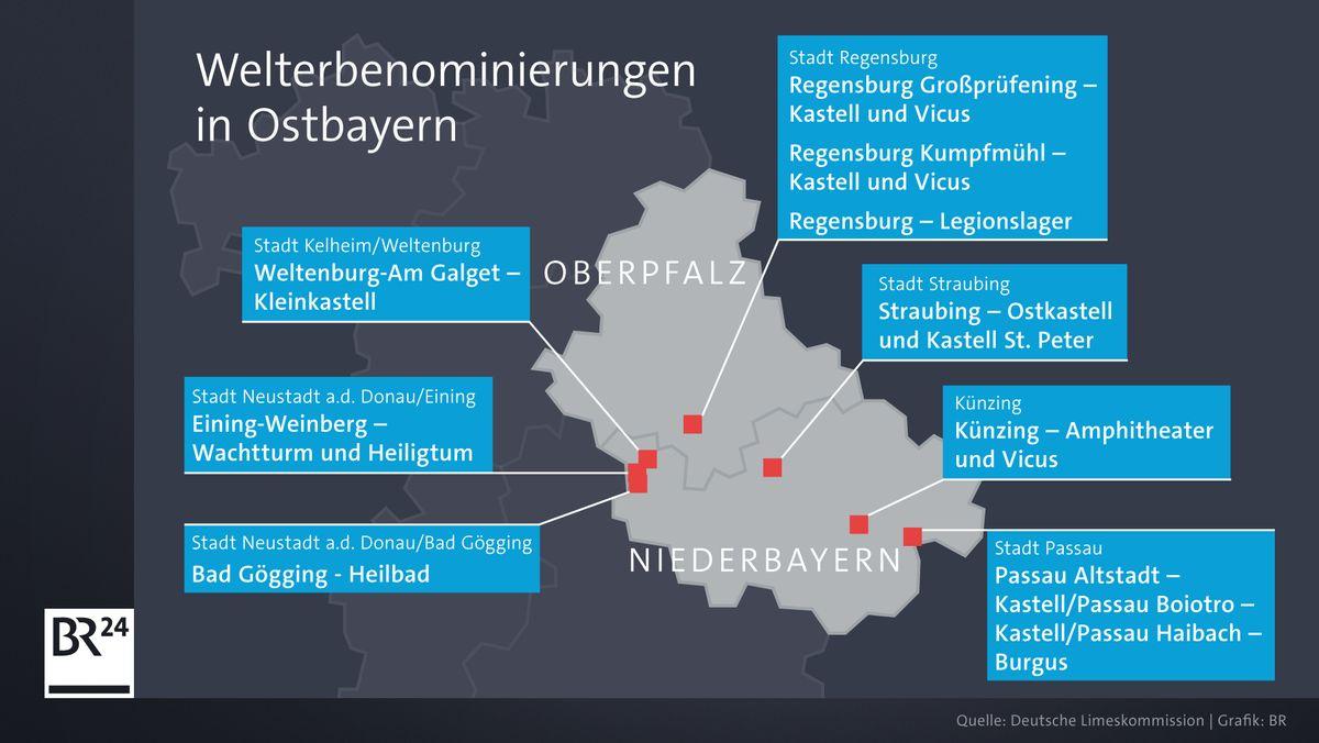 Welterbenominierungen in Ostbayern