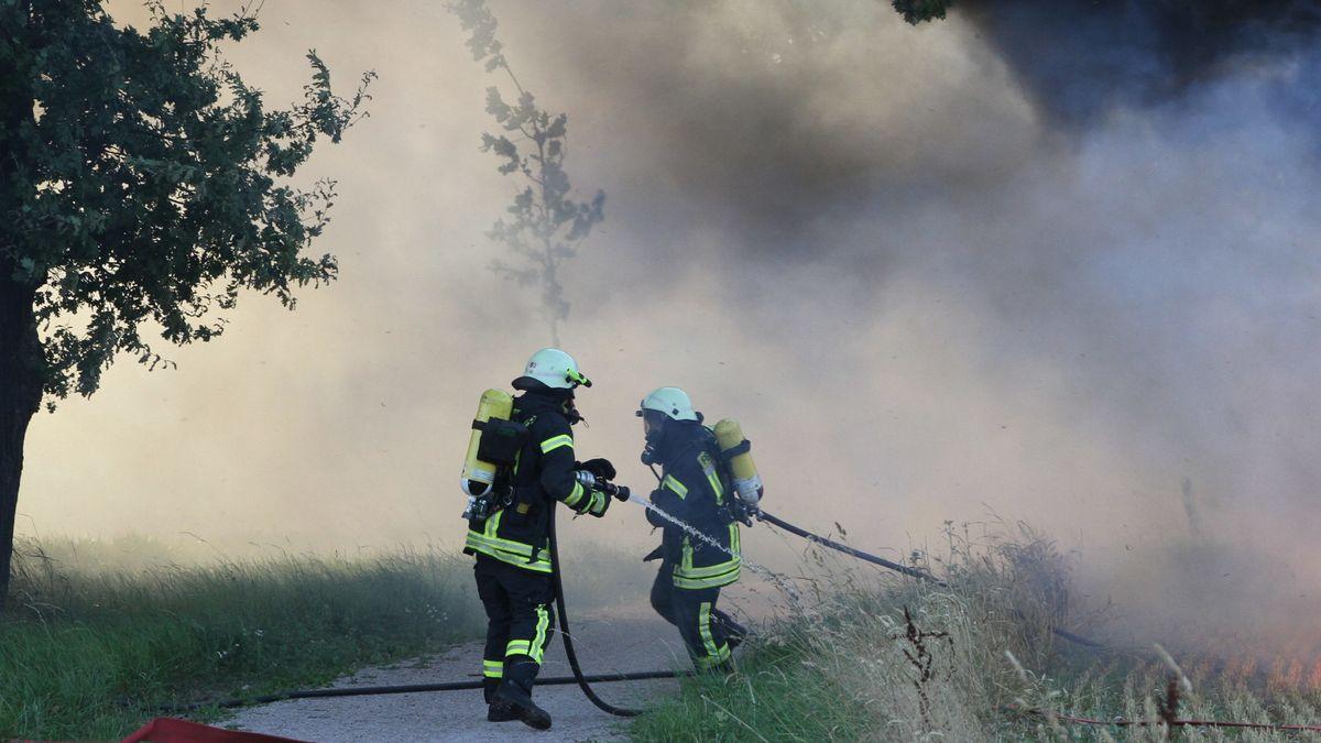 Symbolbild Flächenbrand