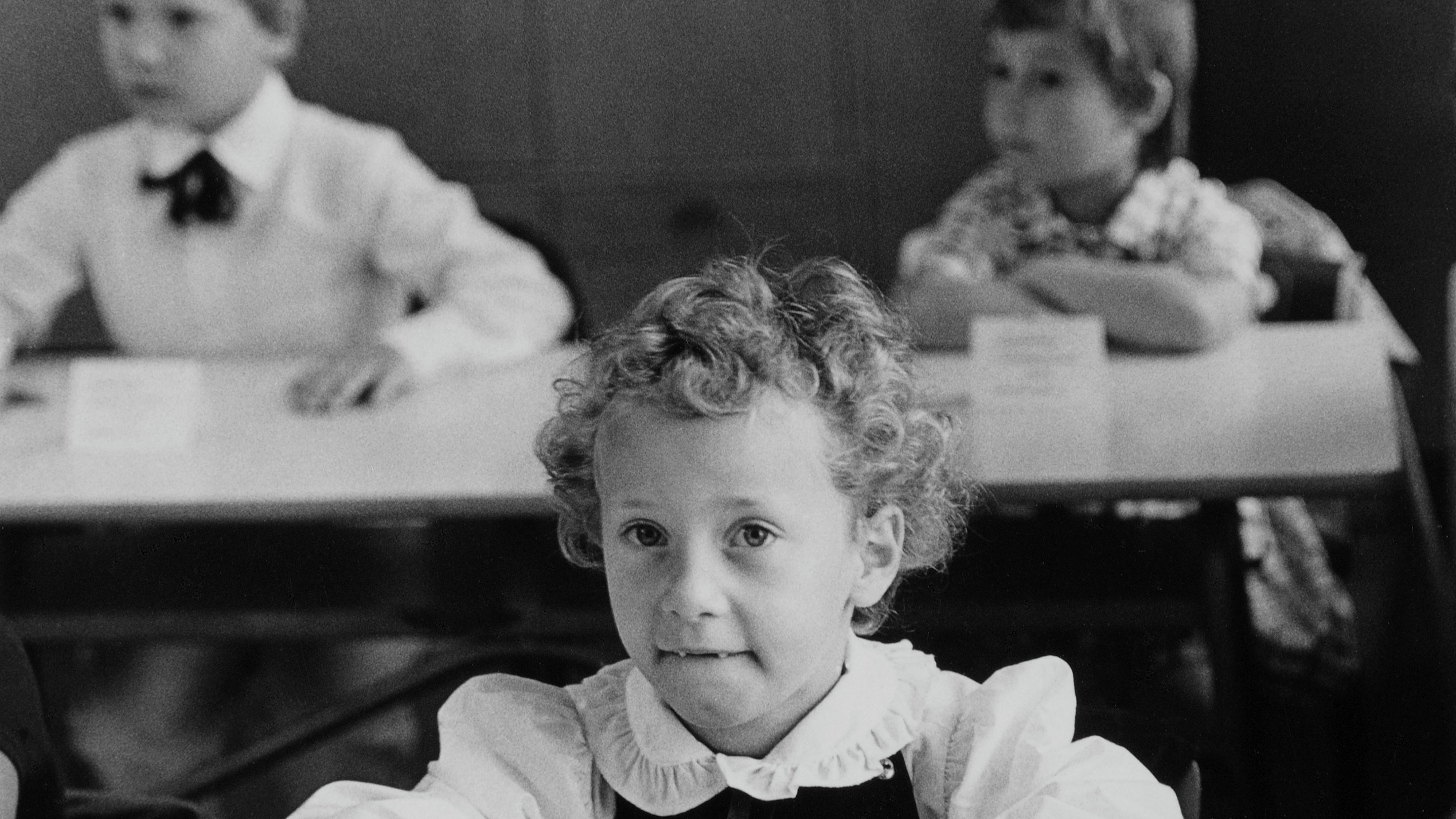 Erster Schultag in der DDR, etwa 1984