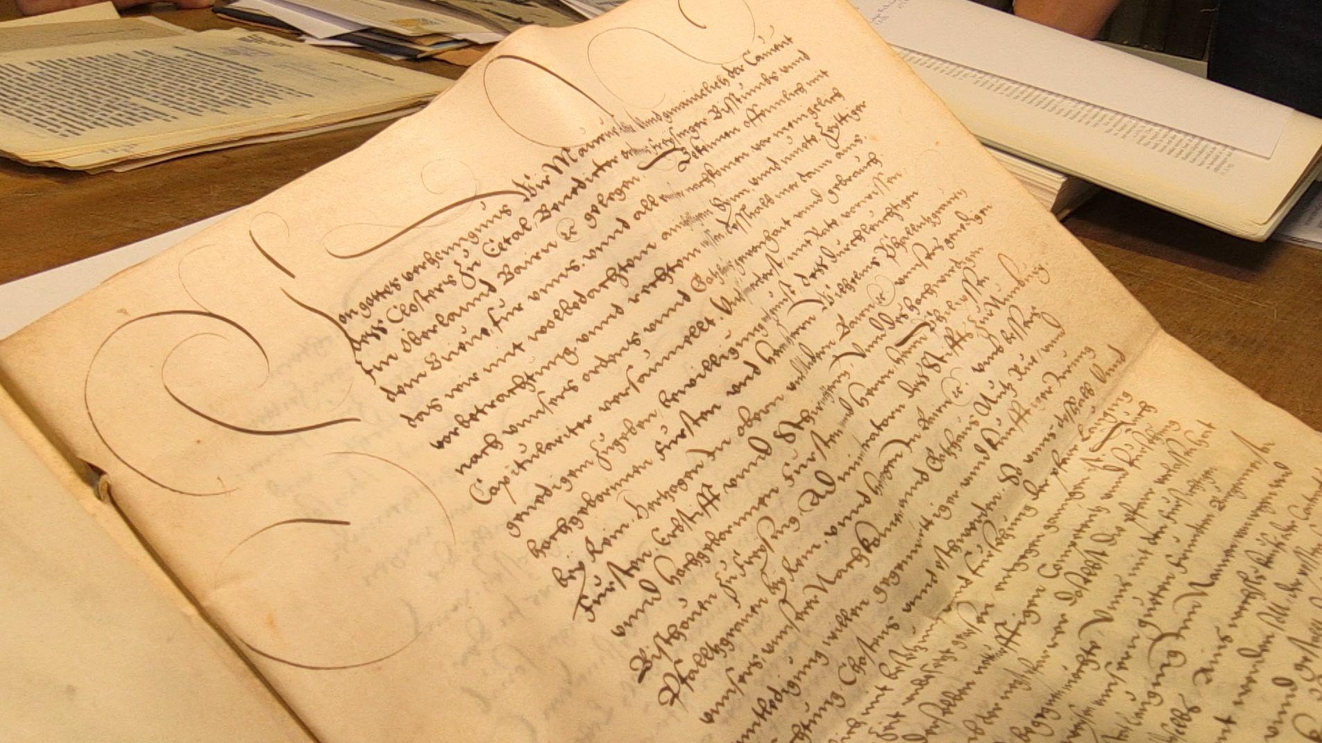 500 Jahre alter Vertrag zwischen Lauingen und der Kirche