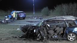 Bilder vom Unfallort.   Bild:news5