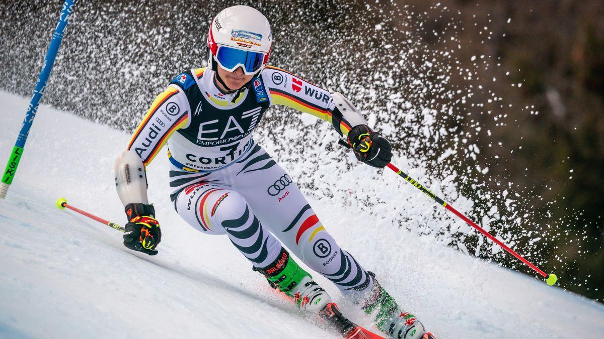 Andrea Filser in Cortina d'Ampezzo