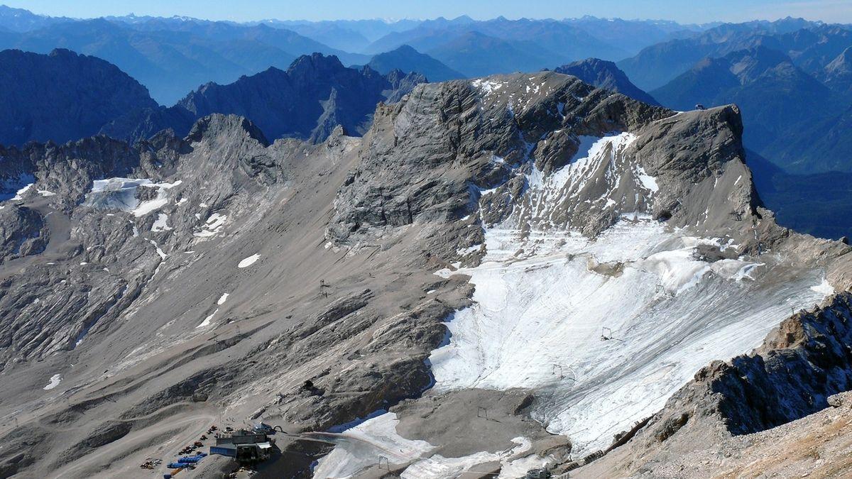 Nördlicher Schneeferner-Gletscher
