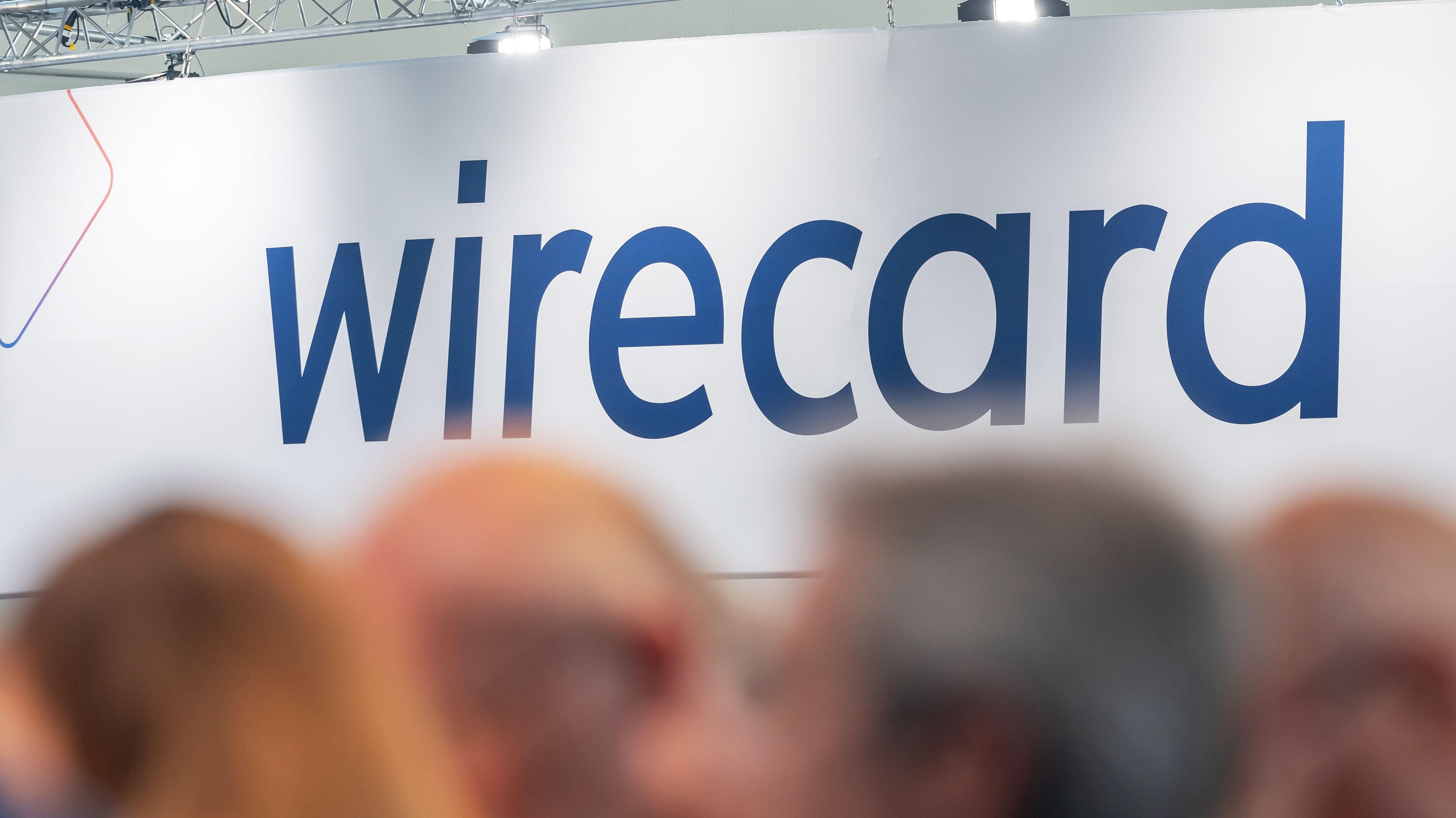 Gäste auf der Hauptversammlung von Wirecard.