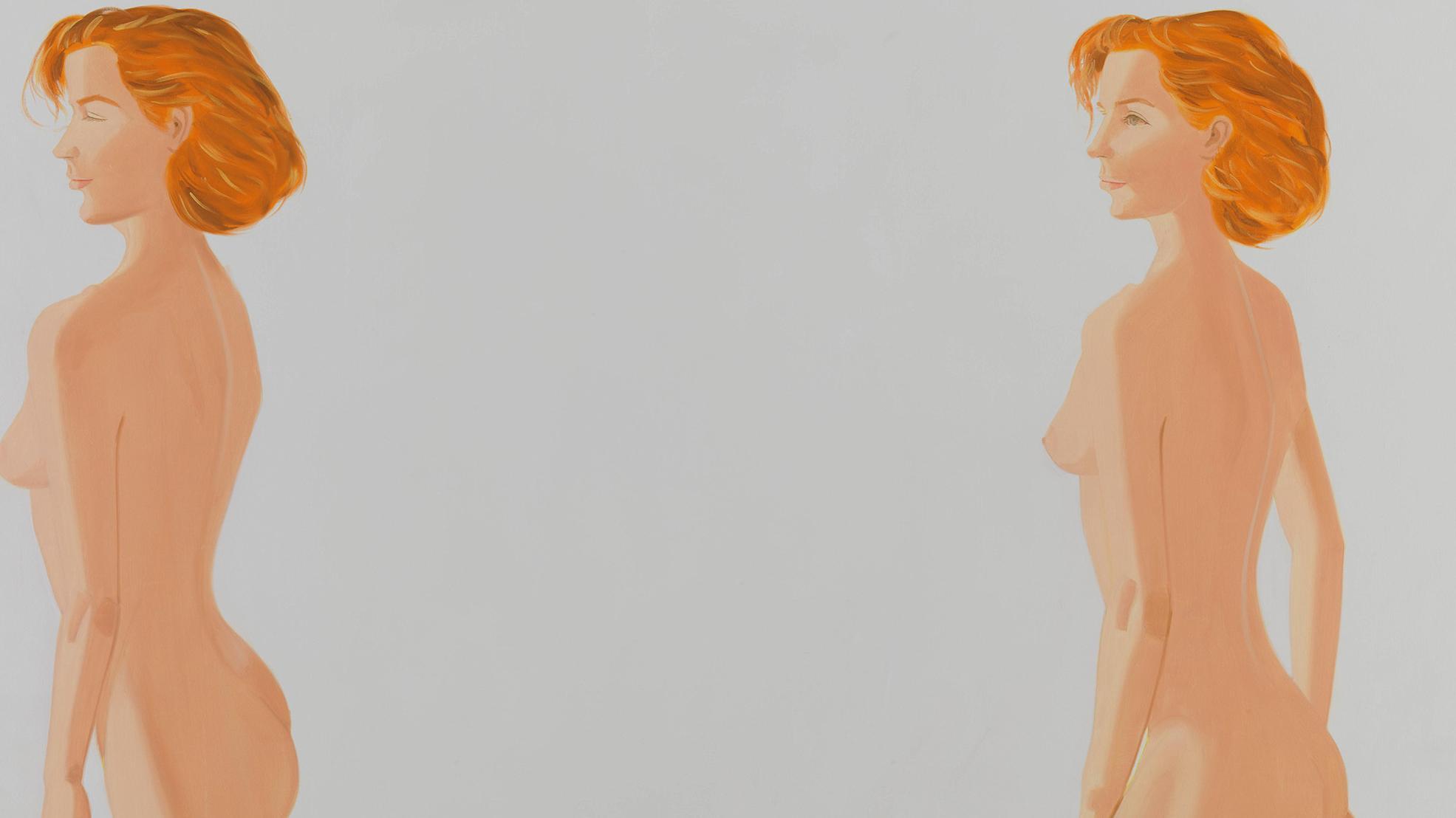 Alex Katz, Red Nude, 1988