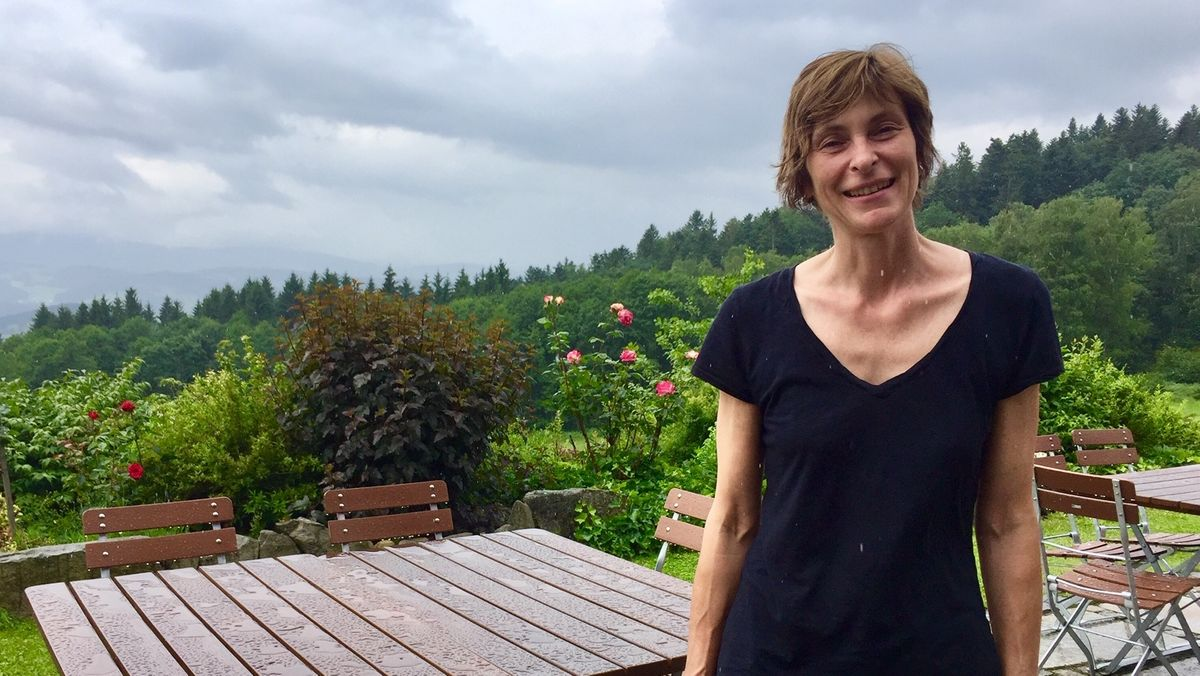 Wirtin Monika Schweizer, Kreisvorsitzende des Hotel-und Gaststättenverbands im Landkreis Regen