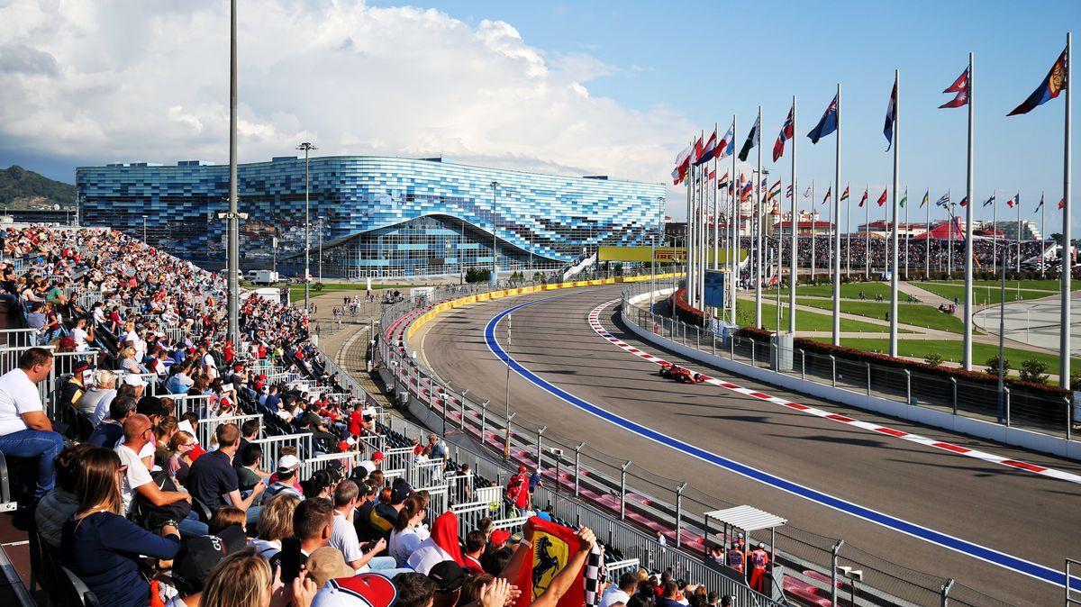 Charles Leclerc im Qualifying zum Großen Preis von Russland in Sotschi