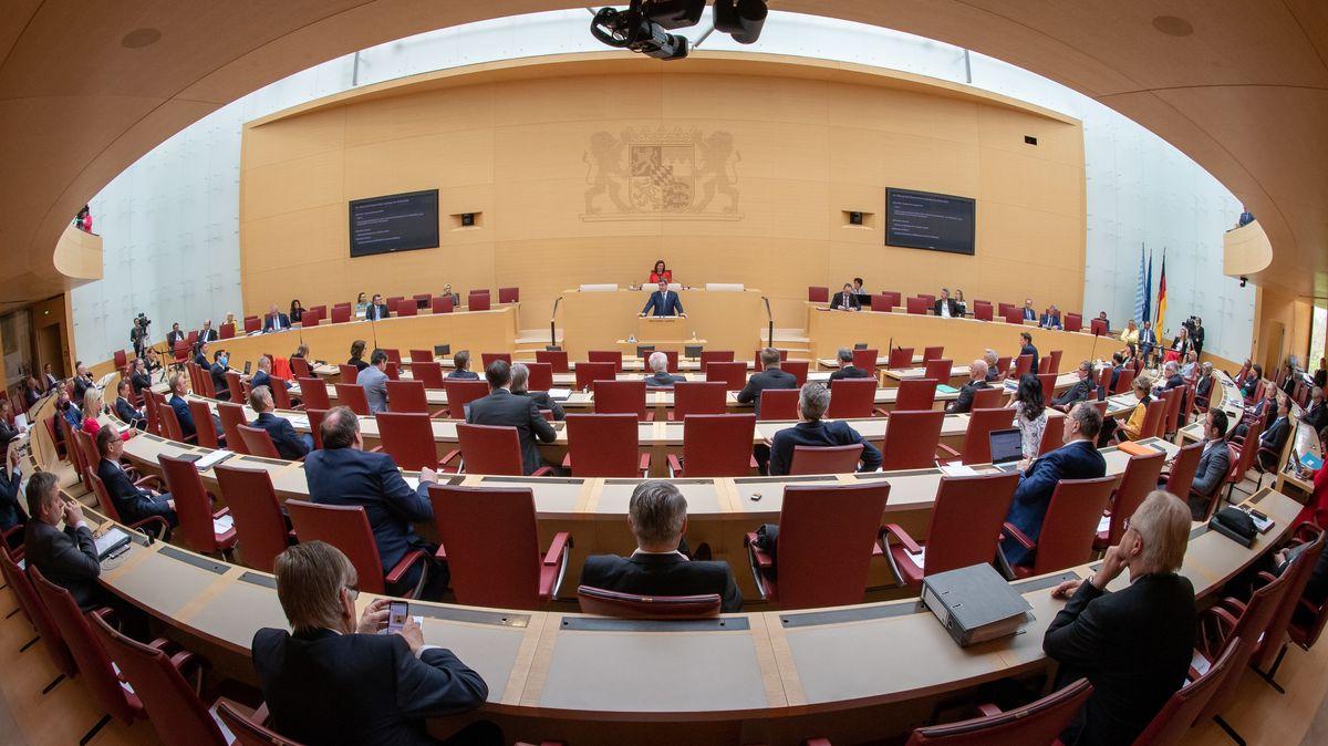 Sitzung des bayerischen Landtags (Archivbild)