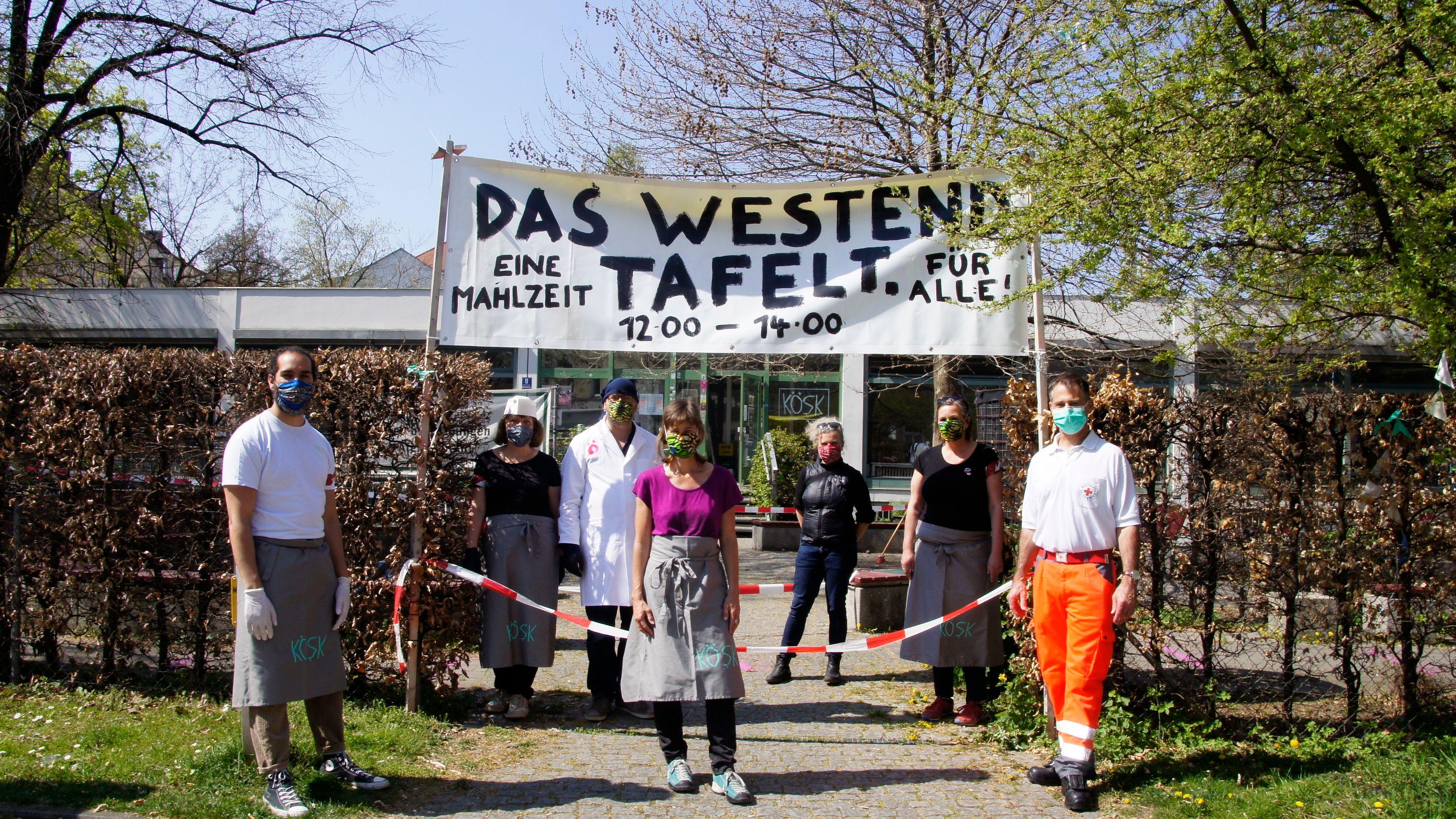 """Eine Mahlzeit für alle: """"Das Westend tafelt"""""""