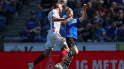 Spielszene Arminia Bielefeld - FC Ingolstadt | Bild:picture-alliance/dpa