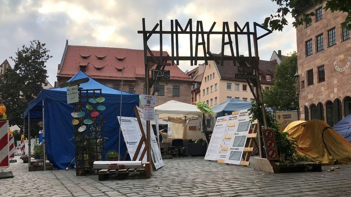 Klimacamp in Nürnberg