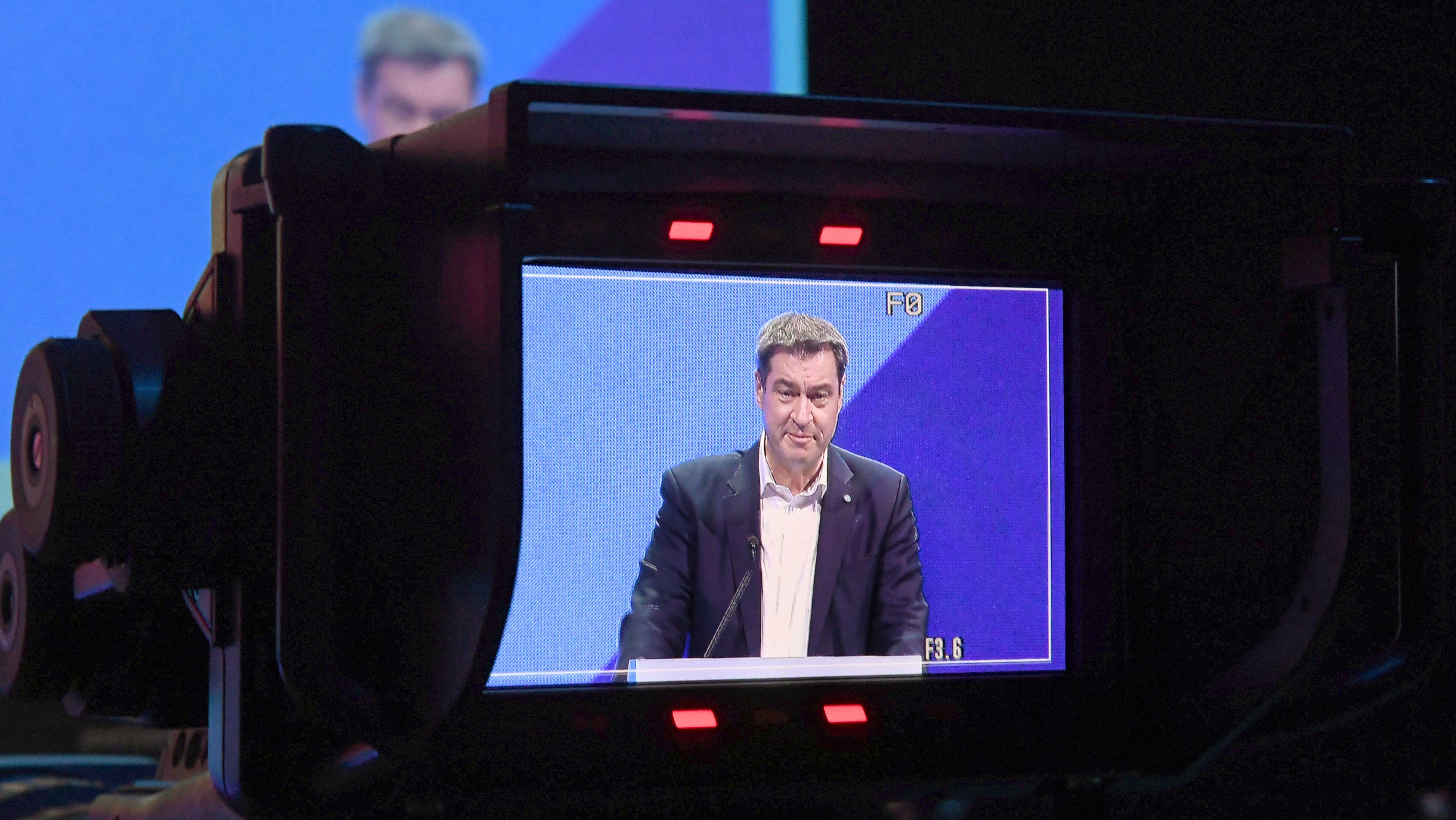 Markus Söder, Ministerpräsident und Journalist