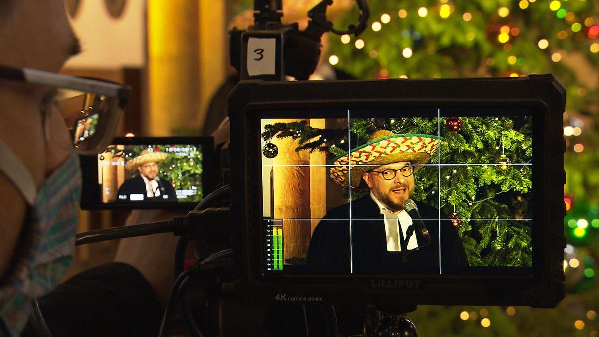 Der Nürnberger Pfarrer Hannes Schott stellt zu Weihnachten Video-Weihnachtsgottesdienste auf Youtube
