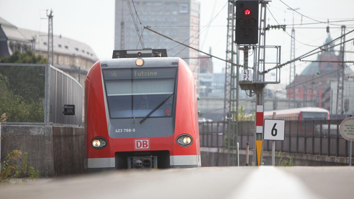 S-Bahnzug in München auf der Stammstrecke