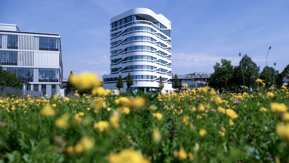 Das Innovations- und Gründerzentrum Biotechnologie IZB in Martinsried (Planegg)