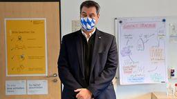 Archivbild: Ministerpräsident Söder  | Bild:dpa-Bildfunk/Peter Kneffel