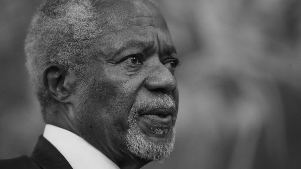 Kofi Annan | Bild:pa/dpa/Luca Bruno
