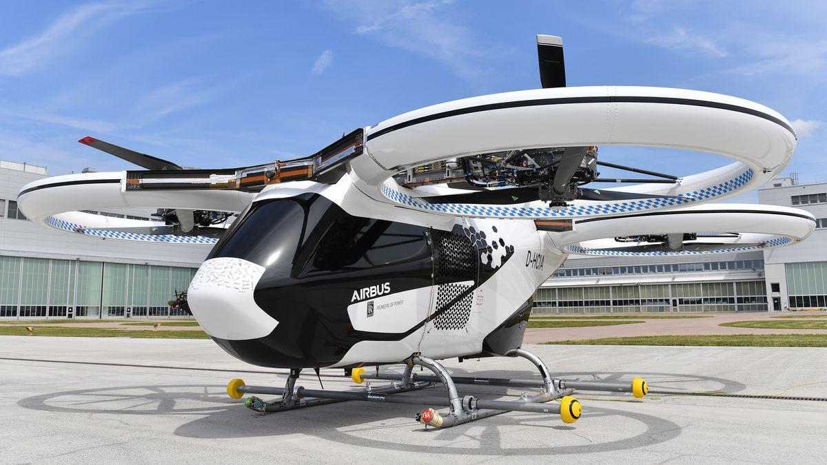 Das Airbus-Flugtaxi