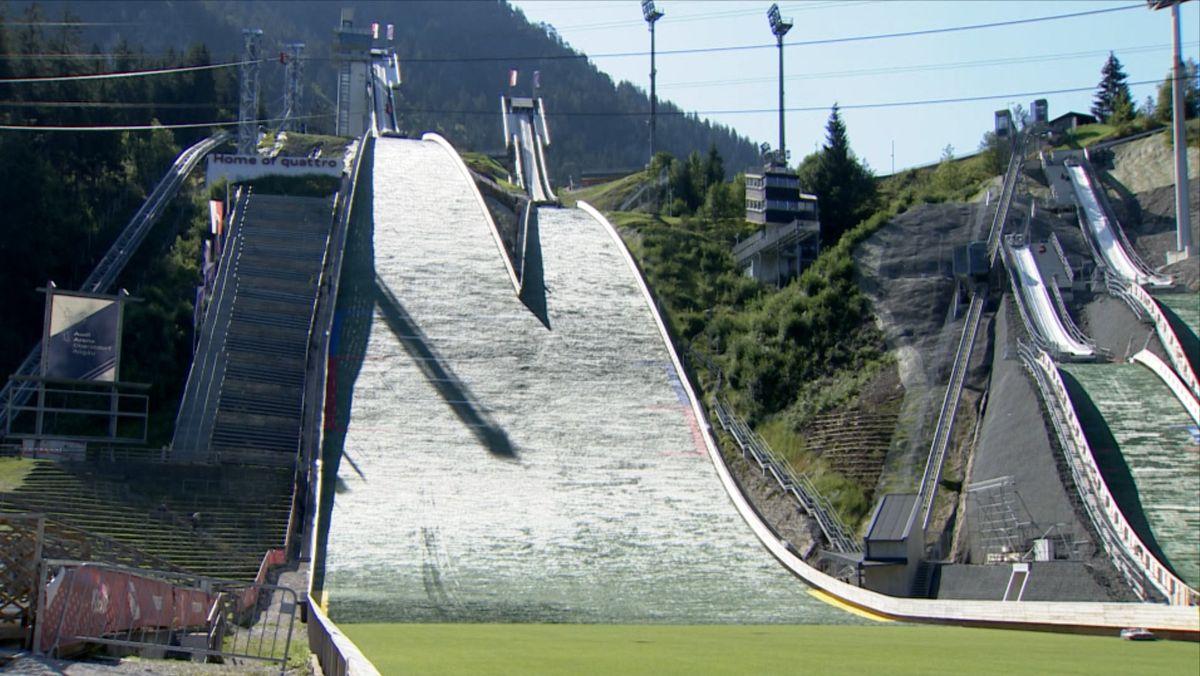Skisprungstadion in Oberstdorf