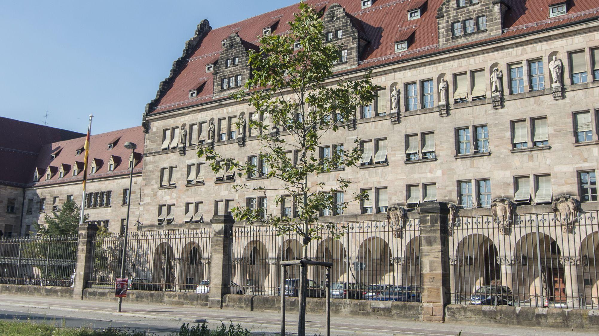 Das Landgericht Nürnberg-Fürth.