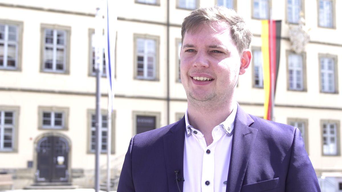 Bambergs Zweiter Bürgermeister Jonas Glüsenkamp (Grüne)