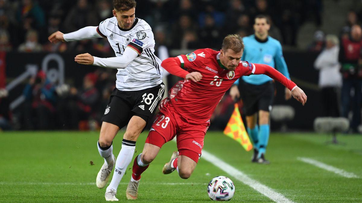 Spielszene Deutschland - Weißrussland