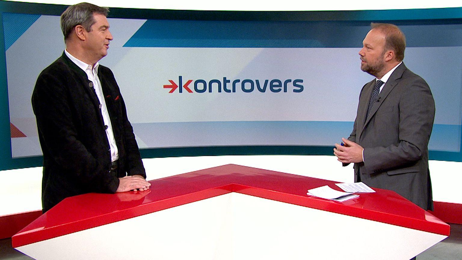 CSU-Chef Söder kritisiert im BR-Interview das Erscheinungsbild der Großen Koalition