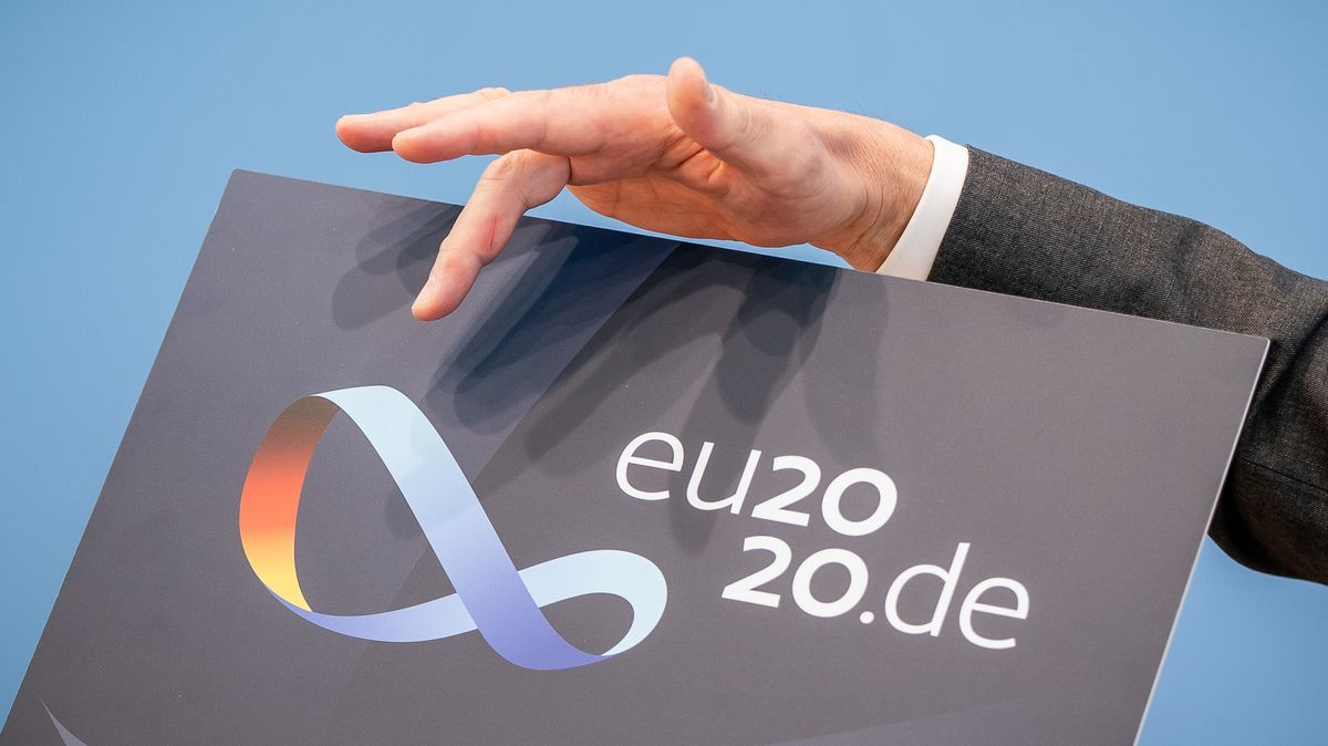 Das Logo der deutschen EU-Ratspräsidentschaft