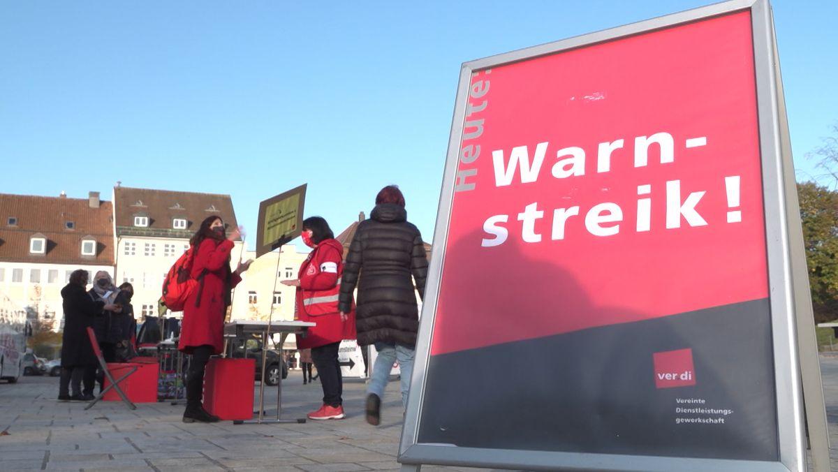 Streikkundgebung am 19.10.2020 in Kempten